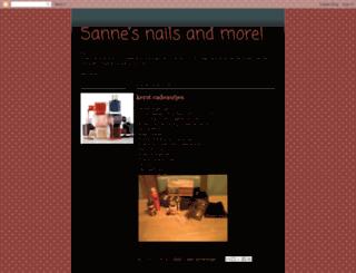 nailsbyme.blogspot.com screenshot