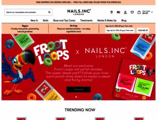 nailsinc.com screenshot