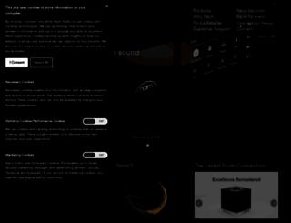 naimaudio.com screenshot