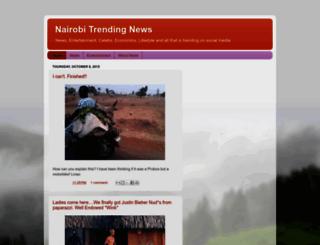 nairobitrendingnews.blogspot.com screenshot