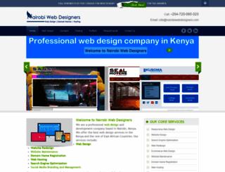nairobiwebdesigners.com screenshot