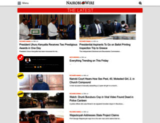 nairobiwire.com screenshot