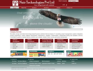 nairshree.com screenshot