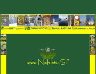 naizletu.si screenshot