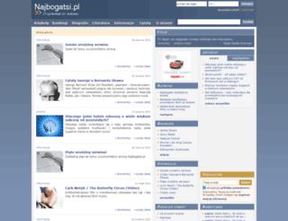 najbogatsi.pl screenshot