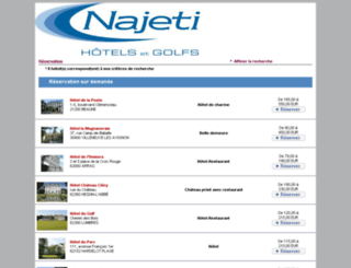 najeti.reservit.com screenshot