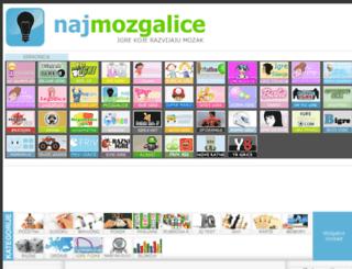 najmozgalice.com screenshot