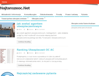 najtanszeoc.net screenshot