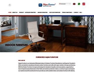 najwafurniture.com screenshot