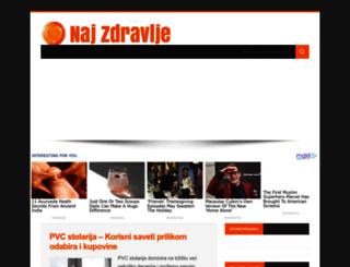 najzdravlje.com screenshot