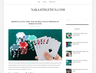 nakaathletics.com screenshot