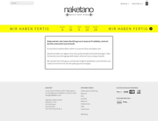 naketano.com screenshot