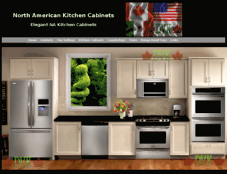 nakitchencabinets.com screenshot
