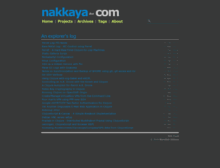 nakkaya.com screenshot