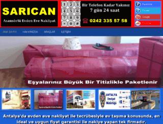 nakliyatantalya.org screenshot