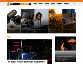 nakrecenieksperci.pl screenshot
