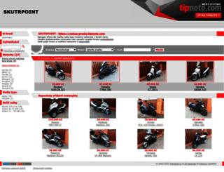 nakup-prodej.tipmoto.com screenshot