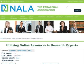 nalacampus.com screenshot