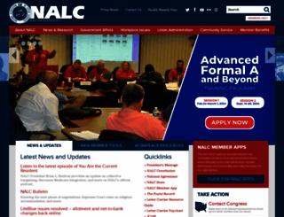 nalc.org screenshot