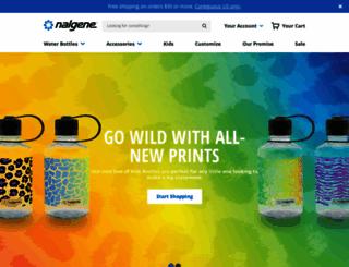 nalgene.com screenshot