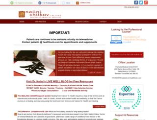 nalinichilkov.com screenshot
