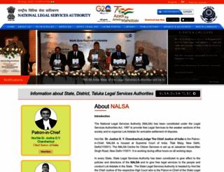 nalsa.gov.in screenshot