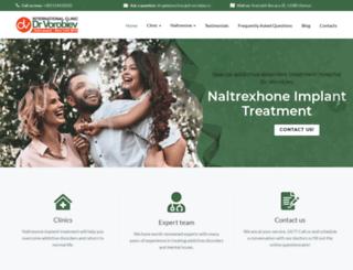 naltrexoneimplant.com screenshot