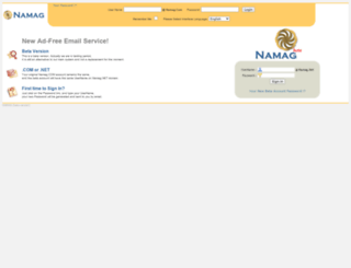 namag.com screenshot