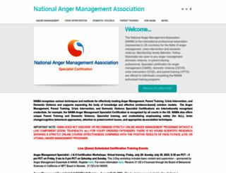 namass.org screenshot