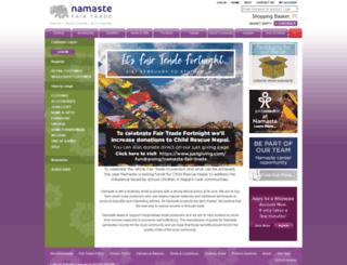 namaste-uk.com screenshot