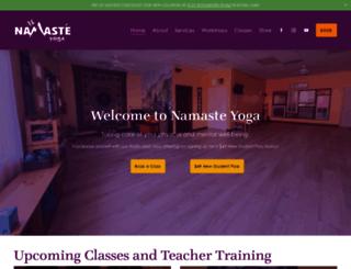 namaste-yoga.net screenshot