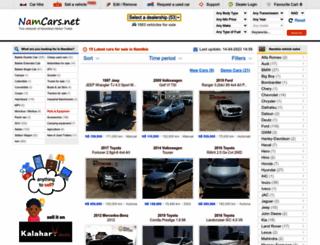namcars.com.na screenshot