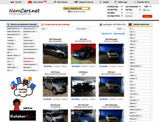 namcars.net screenshot