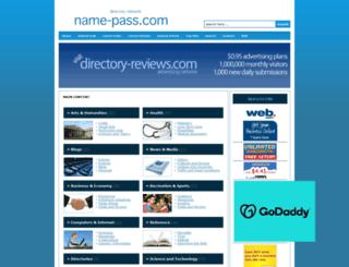name-pass.com screenshot