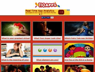 name.110apps.com screenshot