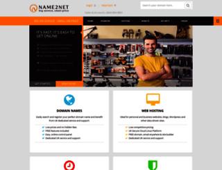 name2net.co.uk screenshot