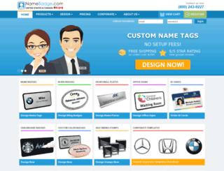 namebadgesinc.com screenshot