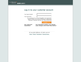 nameclient.speednames.com screenshot