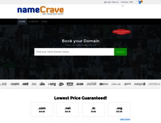 namecrave.com screenshot