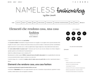 namelessfashionblog.blogspot.it screenshot