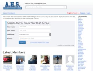 names.allhighschools.com screenshot