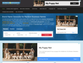 names4brands.com screenshot