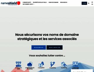 nameshield.com screenshot