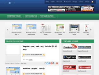 namesilocoupon.com screenshot