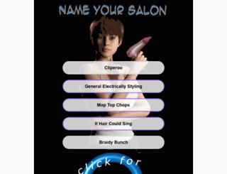 nameyoursalon.com screenshot