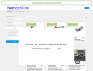 namezoll.de screenshot