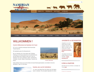 namibian-life-travel.com screenshot