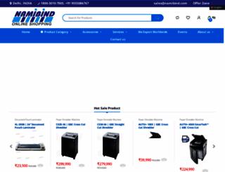 namibind.com screenshot