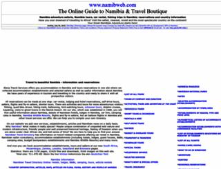 namibweb.com screenshot