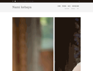 namikebayabali.com screenshot